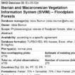 SIVIM Floodplain Forests – Database o ...